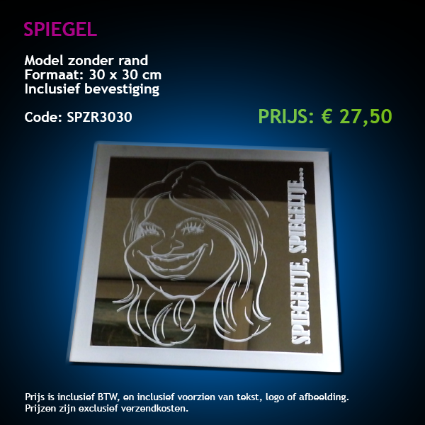 Spiegels for Spiegel 30x30